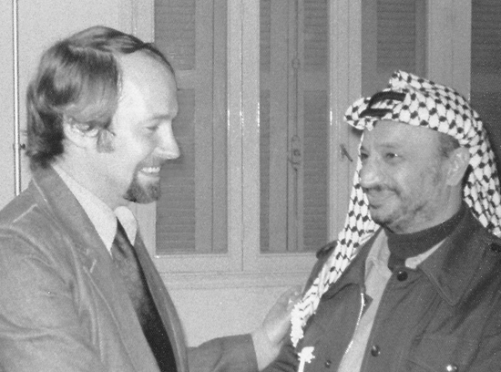 Andrews meets Arafat